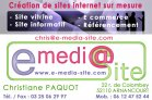 E Media Site création de sites internet en Haute-Marne